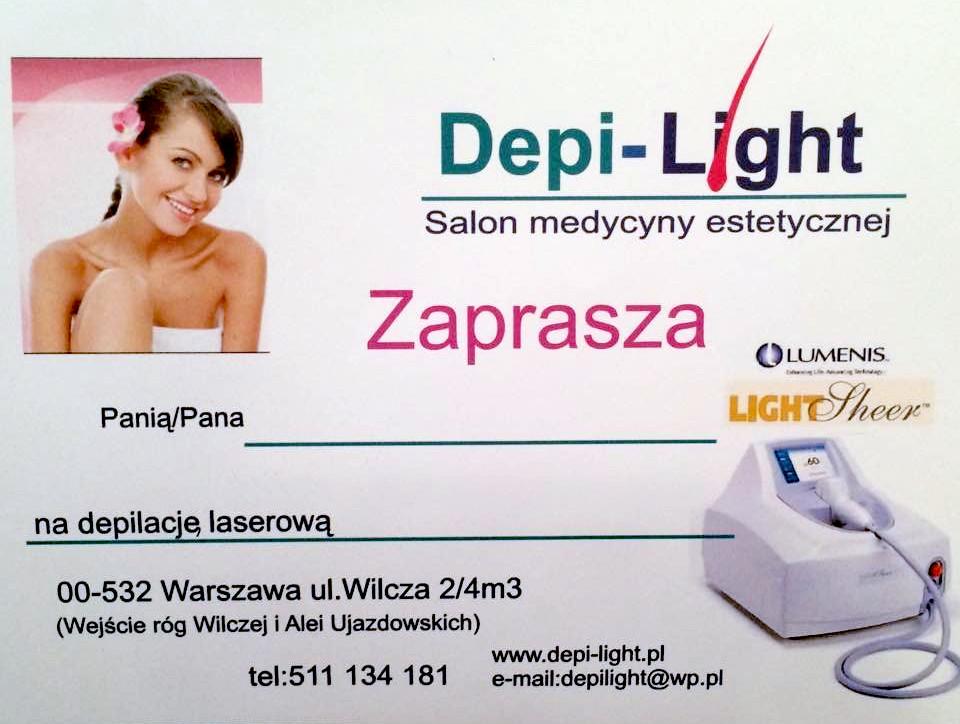bon podarunkowy depilacja laserowa